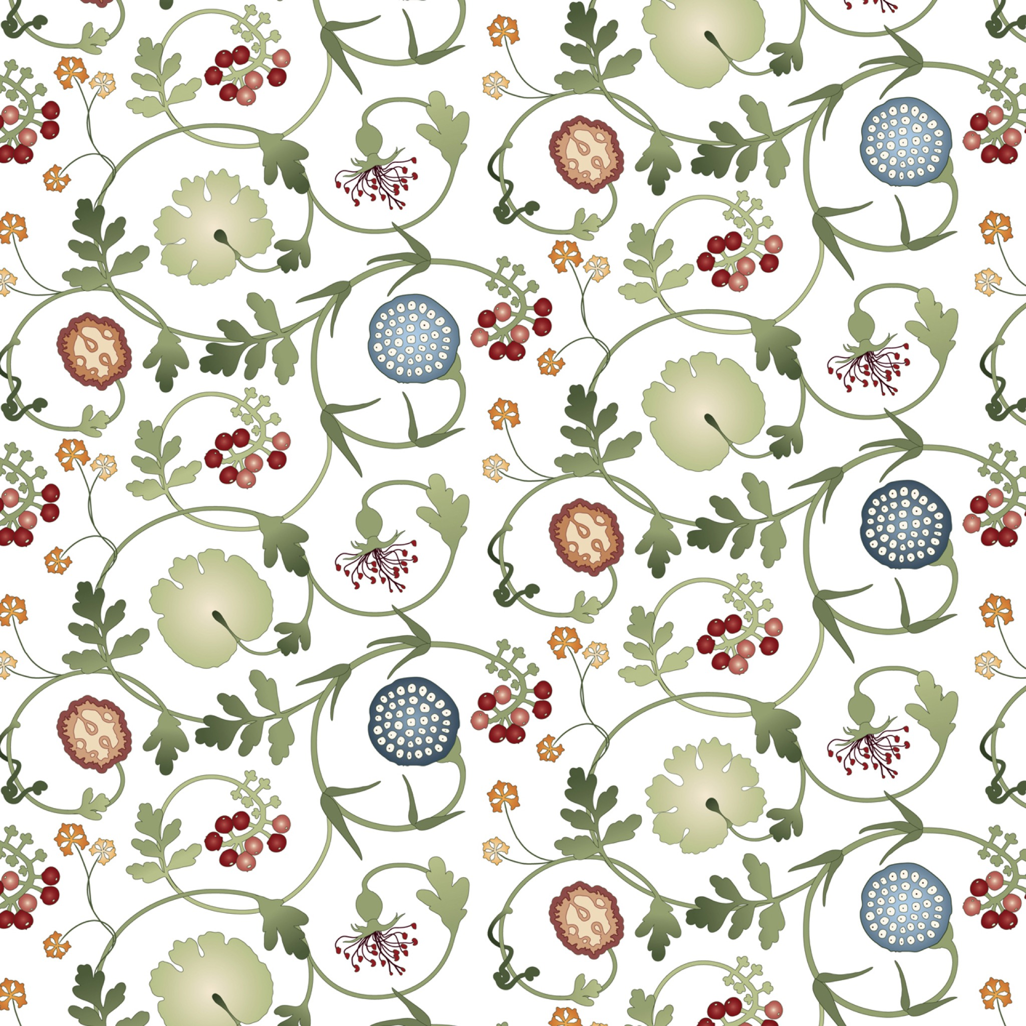 Lotus Small Fabric