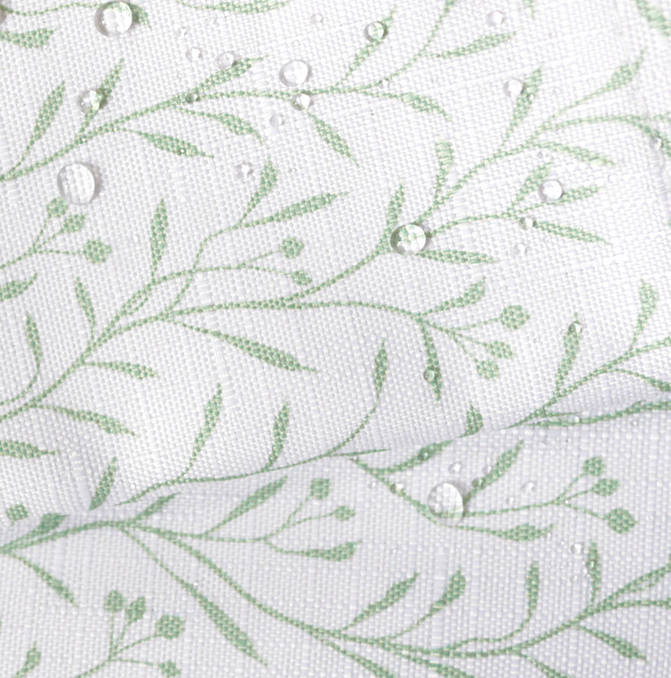 bathage + palampore: willow shower curtain